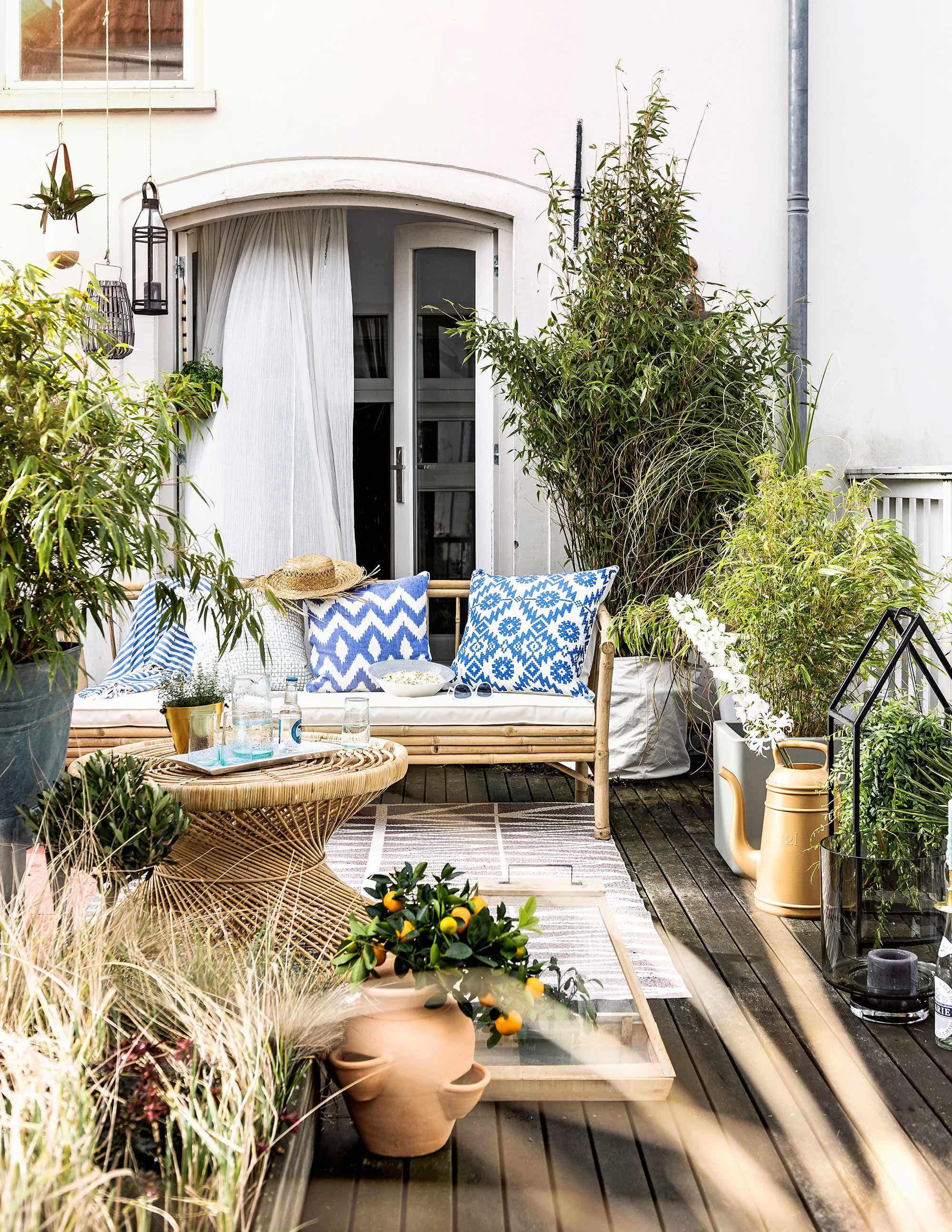 Kleine tuin ibiza stijl klein idee n accessoires tuin for Ideeen kleine tuin
