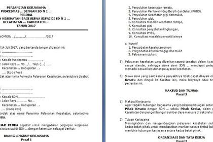 Contoh Surat Permohonan Kerjasama Sekolah Dengan Puskesmas Surat Proposal Sekolah