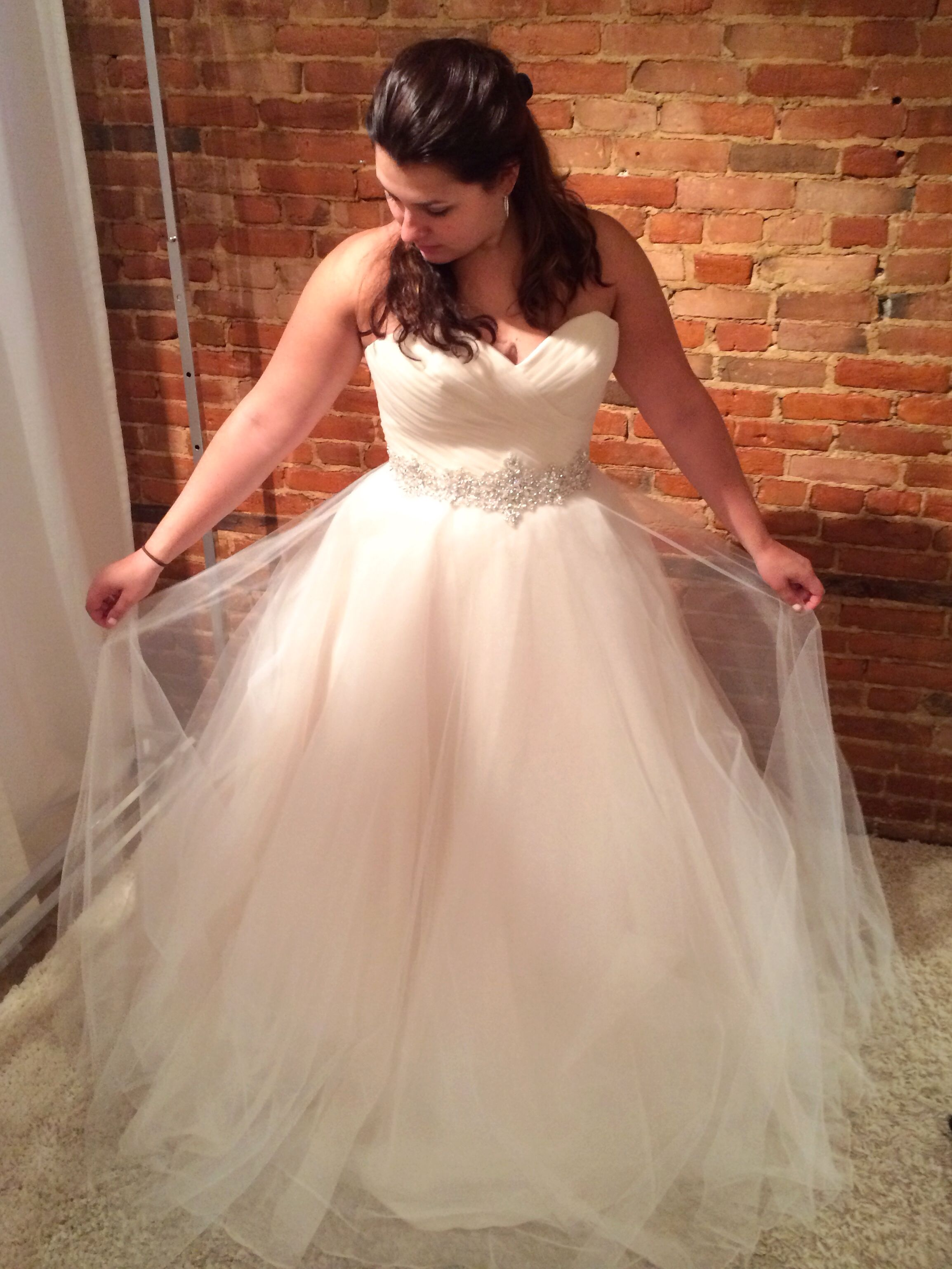 Used wedding dresses in michigan  New morileewedding gown at The Dress Shop Howell MICHIGAN wedding