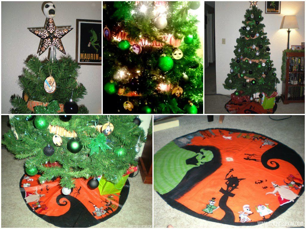 nightmare before christmas tree skirt - Bing Images | Tim Burton Fan ...