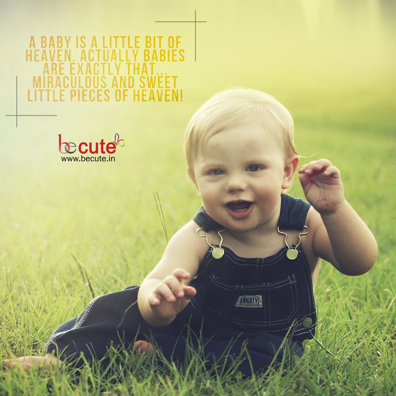 Pin By Becute Lyfstyle Venture On Babies Quotes Images Cute Baby