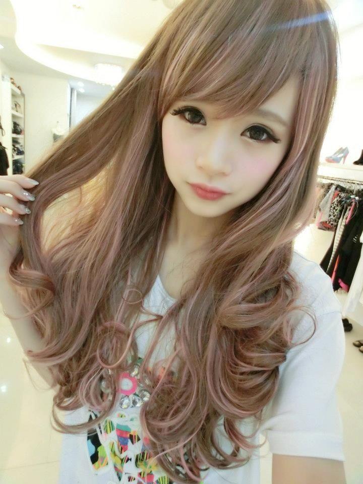 Kawii Girls おしゃれまとめの人気アイデア Pinterest Alice Colin ヘアスタイル ロング カワイイ髪型 人形の髪