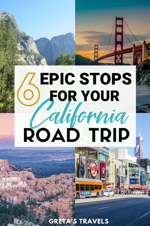USA West Coast Road Trip Itinerary: 6 Places You Must Visit #westcoastroadtrip