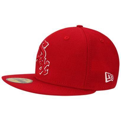 Boné New Era 5950 Chicago White Sox – Vermelho - http   batecabeca. d3111b309a1