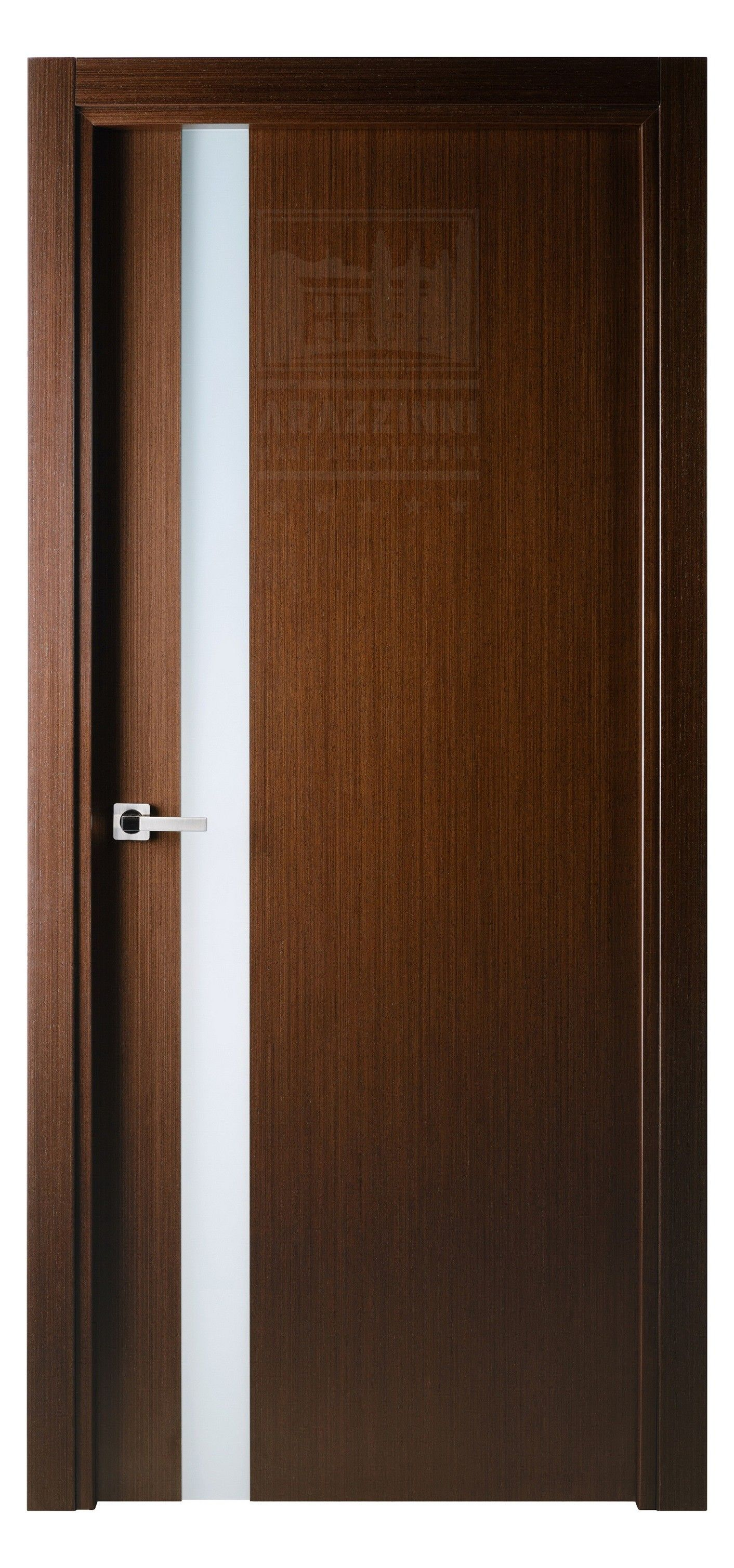 Versai Interior Door in Italian Wenge Finish | Exotic Wood Veneer ...