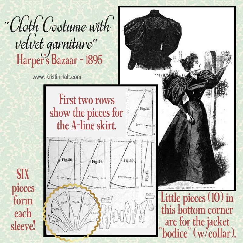 Ladies Fashions Huge Sleeves Of The 1890s Sleeves Pattern Leg