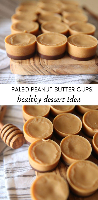 Paleo Peanut Butter Chocolate Hearts Healthy Valentine Treat Recipe Peanut Butter Cups Recipe Peanut Butter Cups Paleo Paleo Peanut Butter