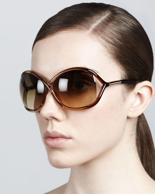 Women' Pink Whitney Cross-bridge Sunglasses