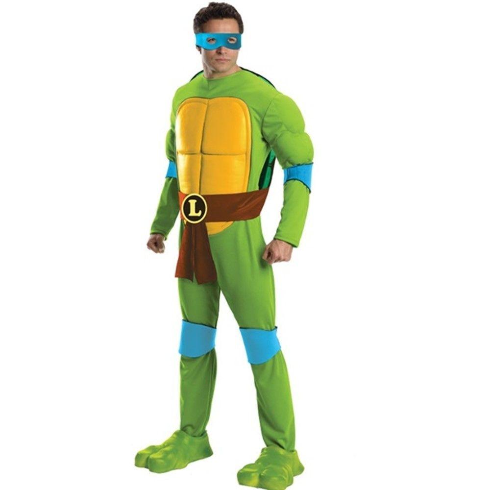 Teenage Mutant Ninja Turtles Muskel Leonardo Herrenkostüm | USA ...