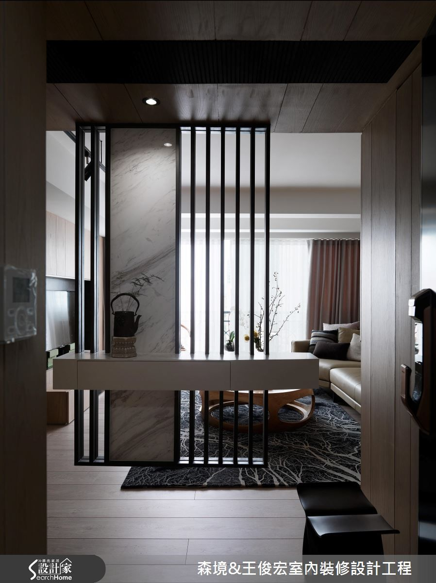 House living partition oriental home square