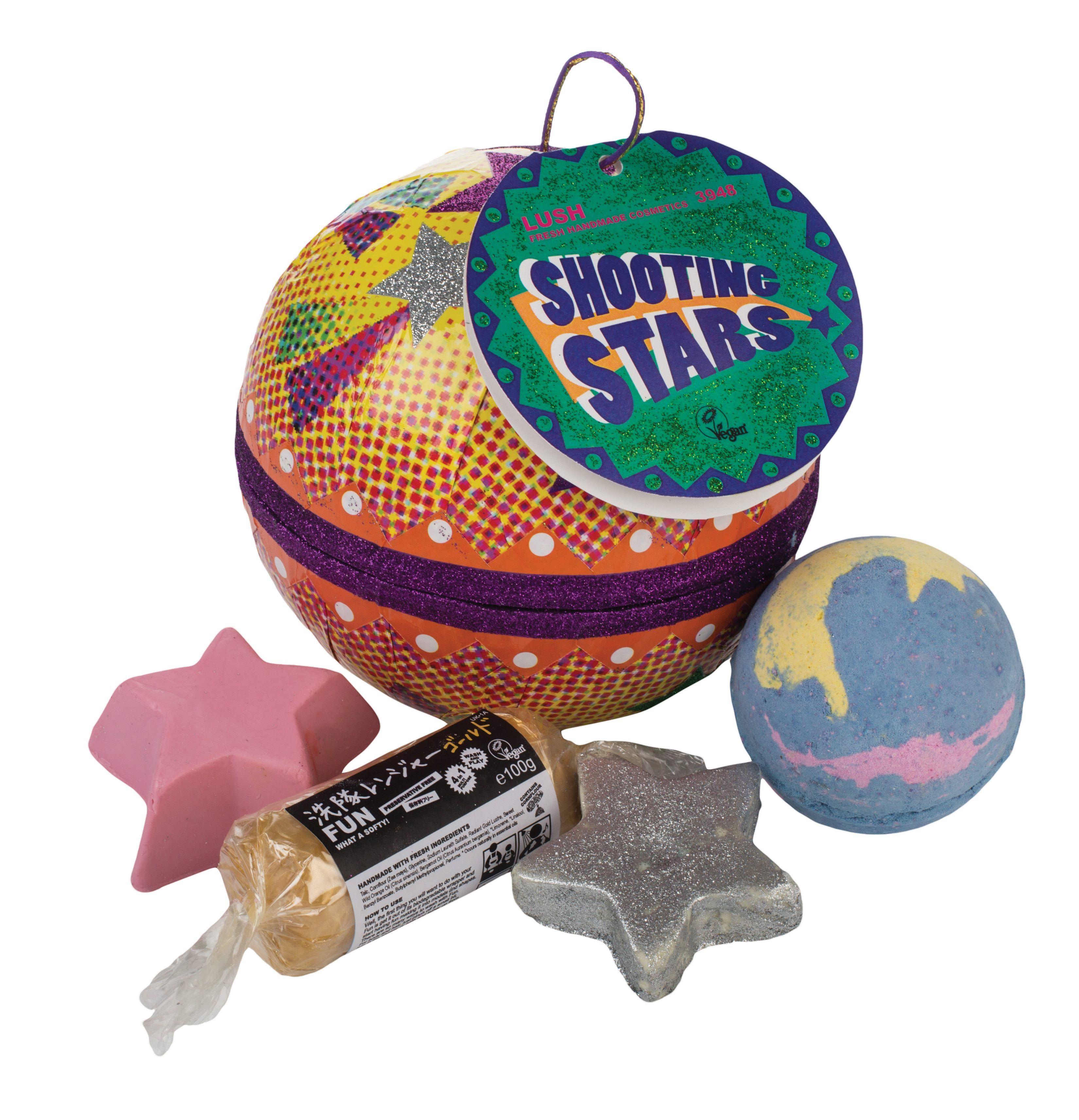 Lush shooting stars gift christmas gift guide