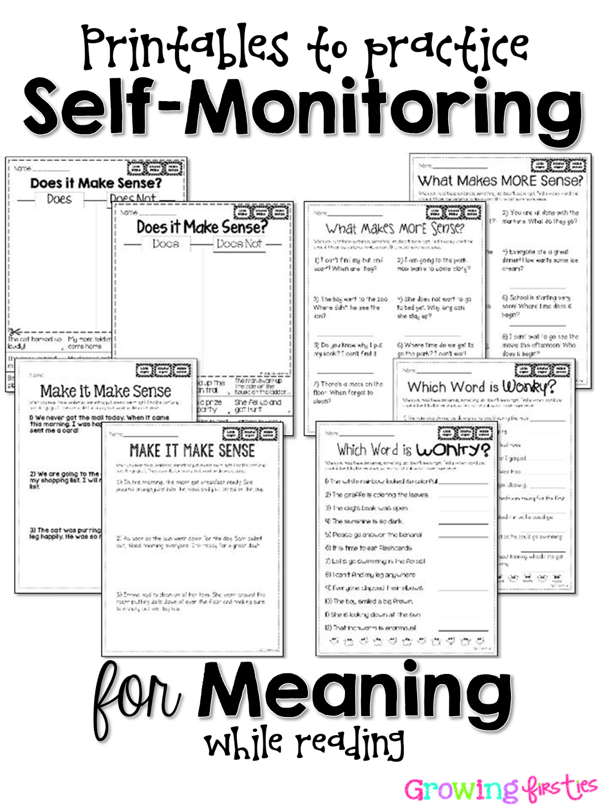 How I Work With Students To Self Monitor While Reading