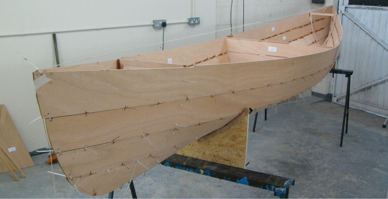 stitch and glue boat - Google Search | Small Boat, Paddle Board ...