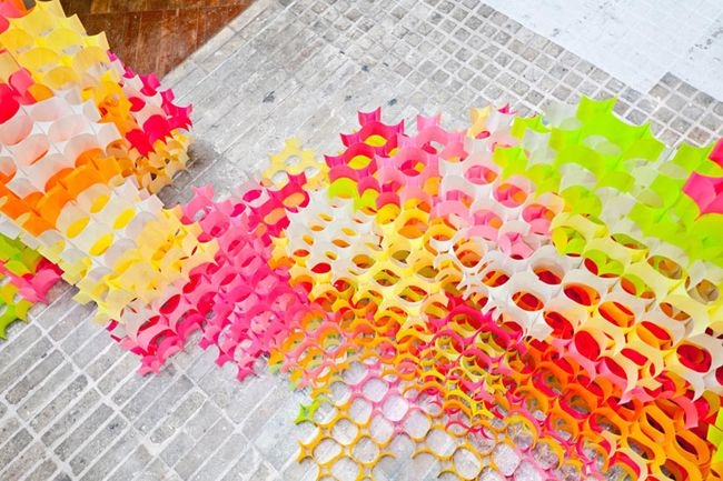 post-it structures by yo shimada of tato architects