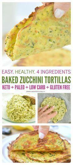 Keto Zucchini tortillas, Low carb keto friendly coconut flour recipe, easy, healthy paleo and gluten free.