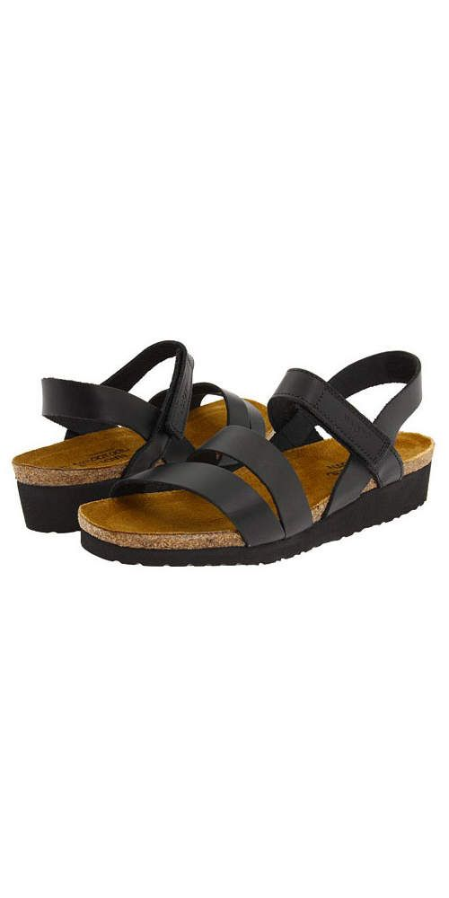 """e261026b03 NAOT Footwear Kayla: """"I tell my patients to think about walking on the  beach and having the foot form a pattern in the sand—that is what most of the  sandals ..."""