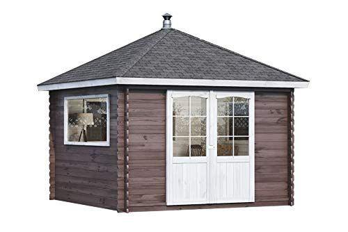 Gartenhaus aus FichtenHolz Gartenhütte mit Dachpappe