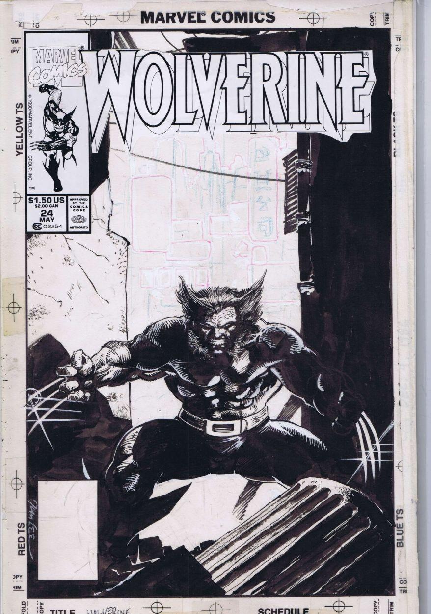 Wolverine by Jim Lee