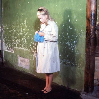"Catherine Deneuve in ""Les Parapluies de Cherbourg"" (The Umbrellas of Cherbourg)"