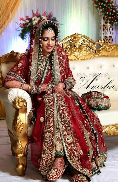 khada dupatta Makeup by Rude and Chic Hyderabad | khada dupatta ...
