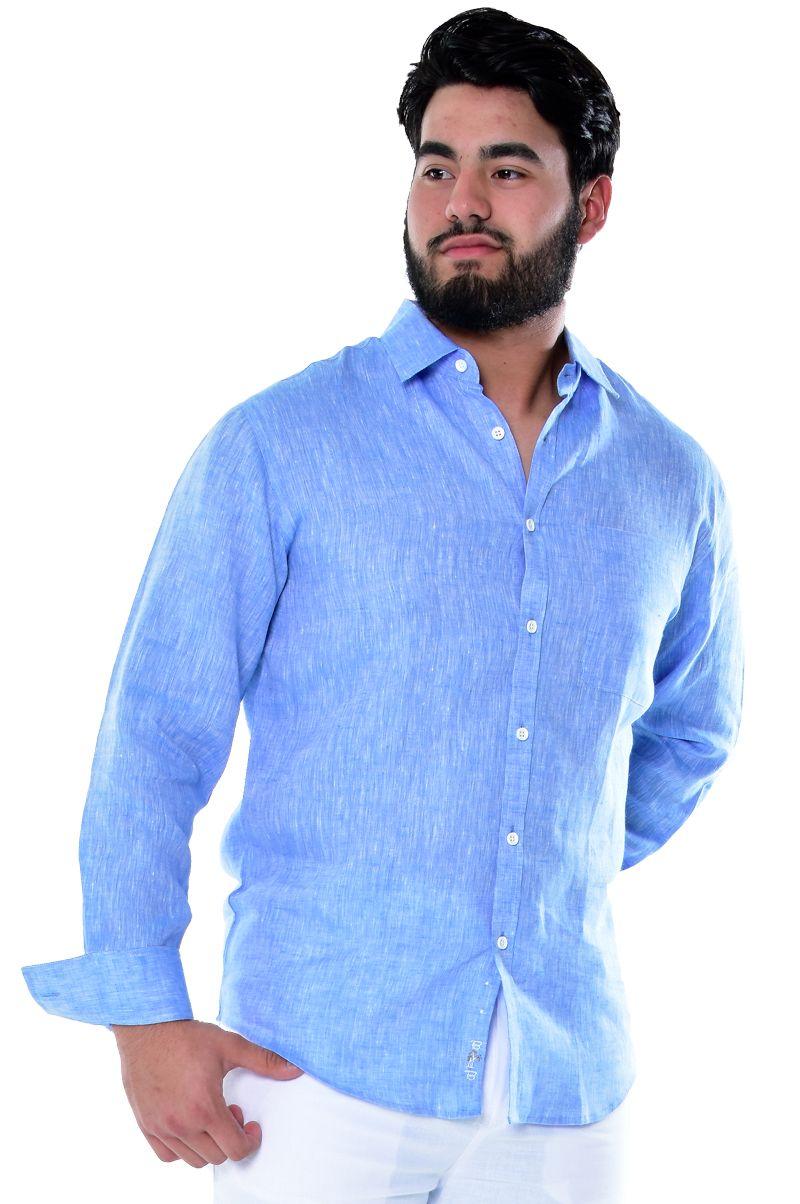 mens ivory dress shirt linen