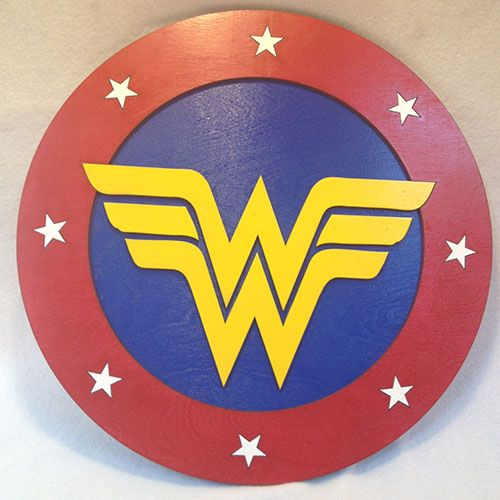 A Template For Wonder Woman S Shield Google Search In 2020
