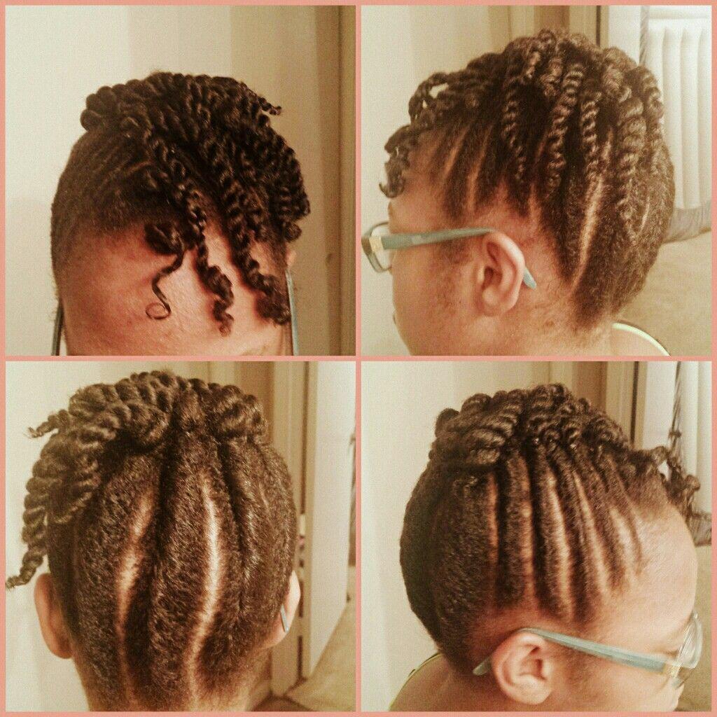 Twist up hair style pinterest hair style