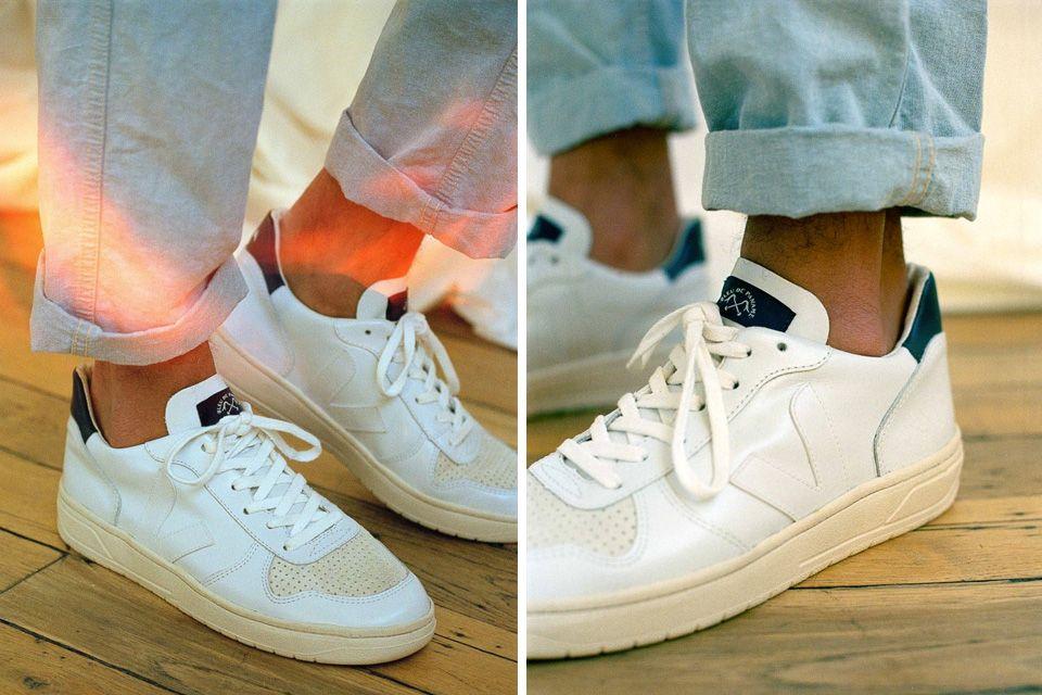 asqueroso Conceder Incorrecto  Veja x Bleu De Paname V-10 Sneaker   Highsnobiety   Sneaker brands, Nice  shoes, Summer shoes