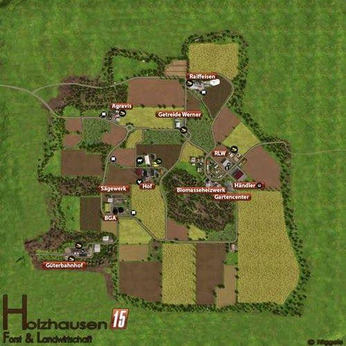 Una mappa davvero popolare per FS 2013, si tratta della Holzhausen