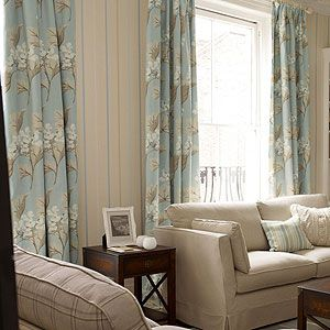 Pin by Beautiful Homes And Gardens on Curtain Ideas | Blue bedroom, Living room accessories ...