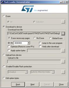 STM32  Программирование STM32F103  Тестовая плата  Прошивка через