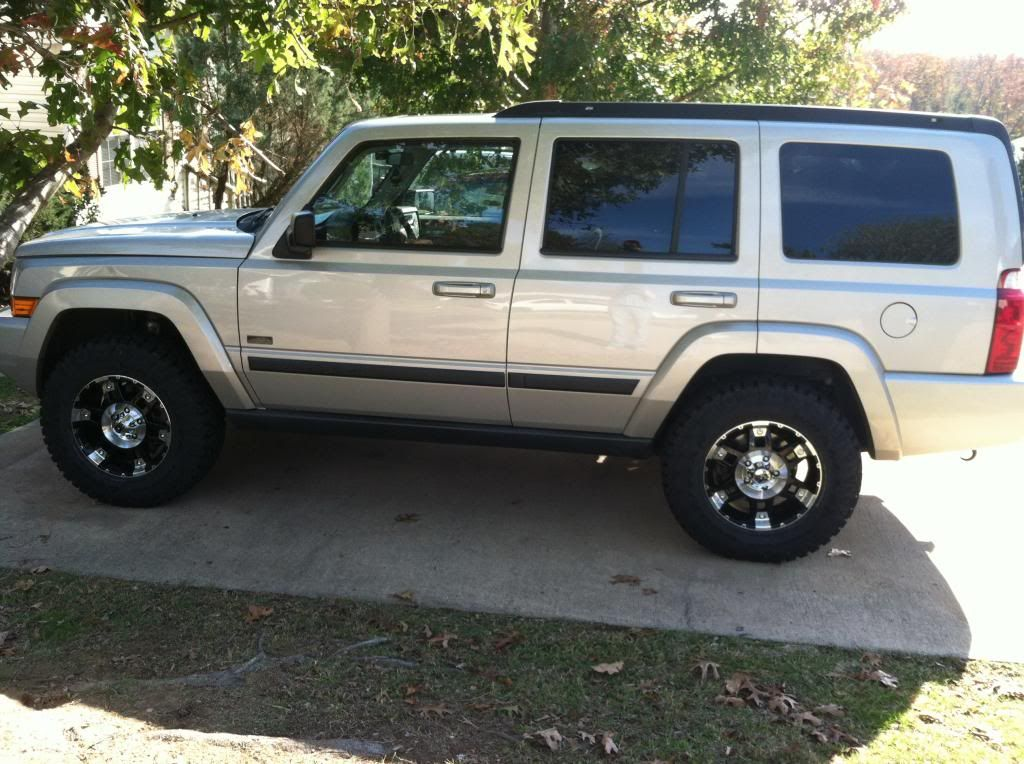 Good Lift And Tire Size 265 70 Jeep Commander Jeep Commander