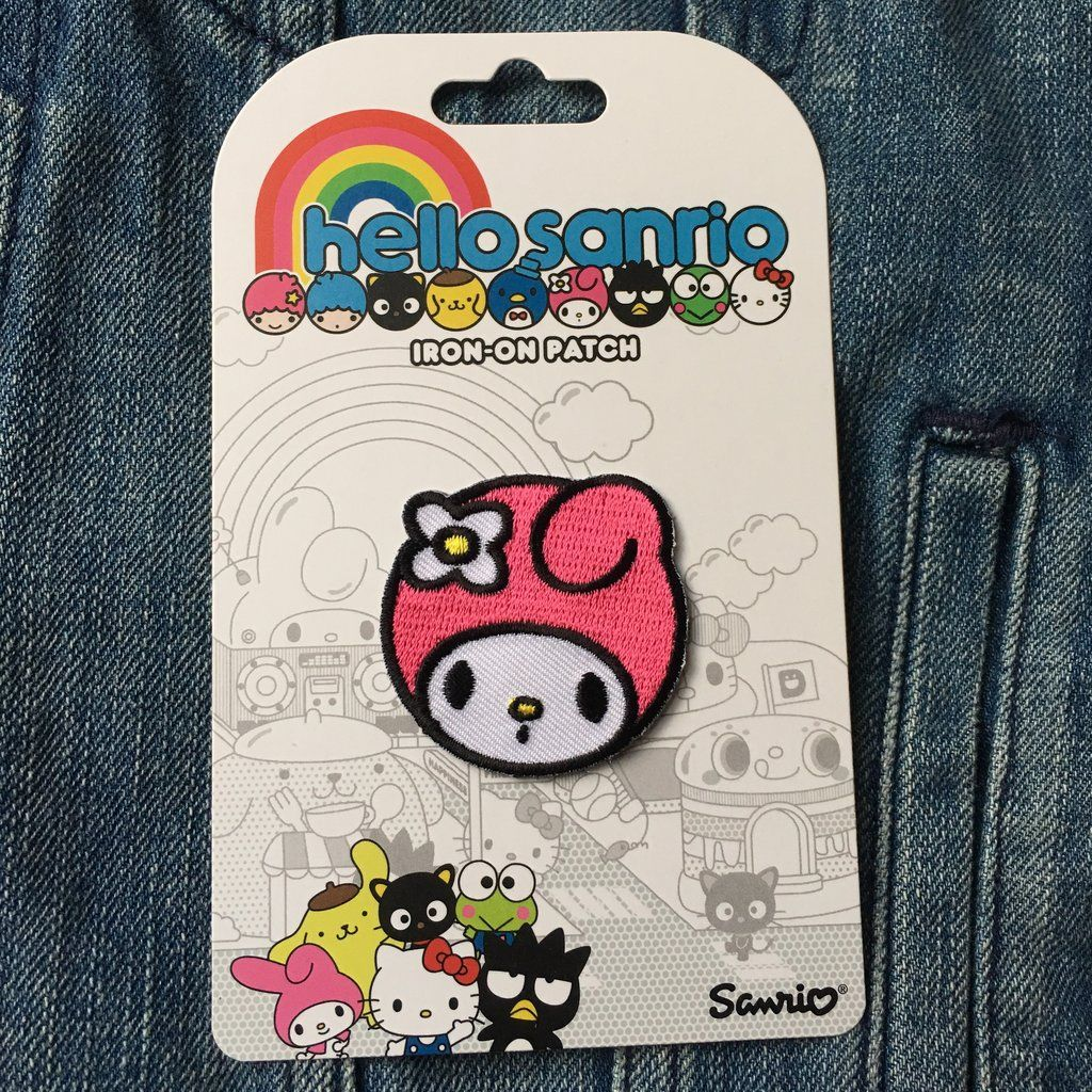 Iron-on Patch - My Melody Face Sanrio - Lulabites in 2020 ...