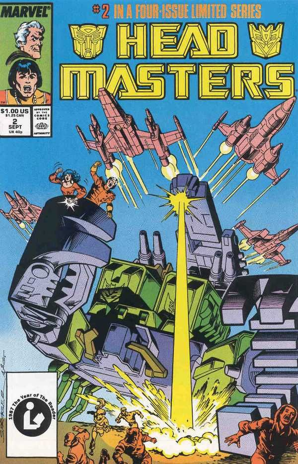 GI Joe /& the Transformers #2 VF Marvel Comics Feb 1987