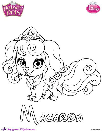 palace pets coloring pages for kids - photo #19
