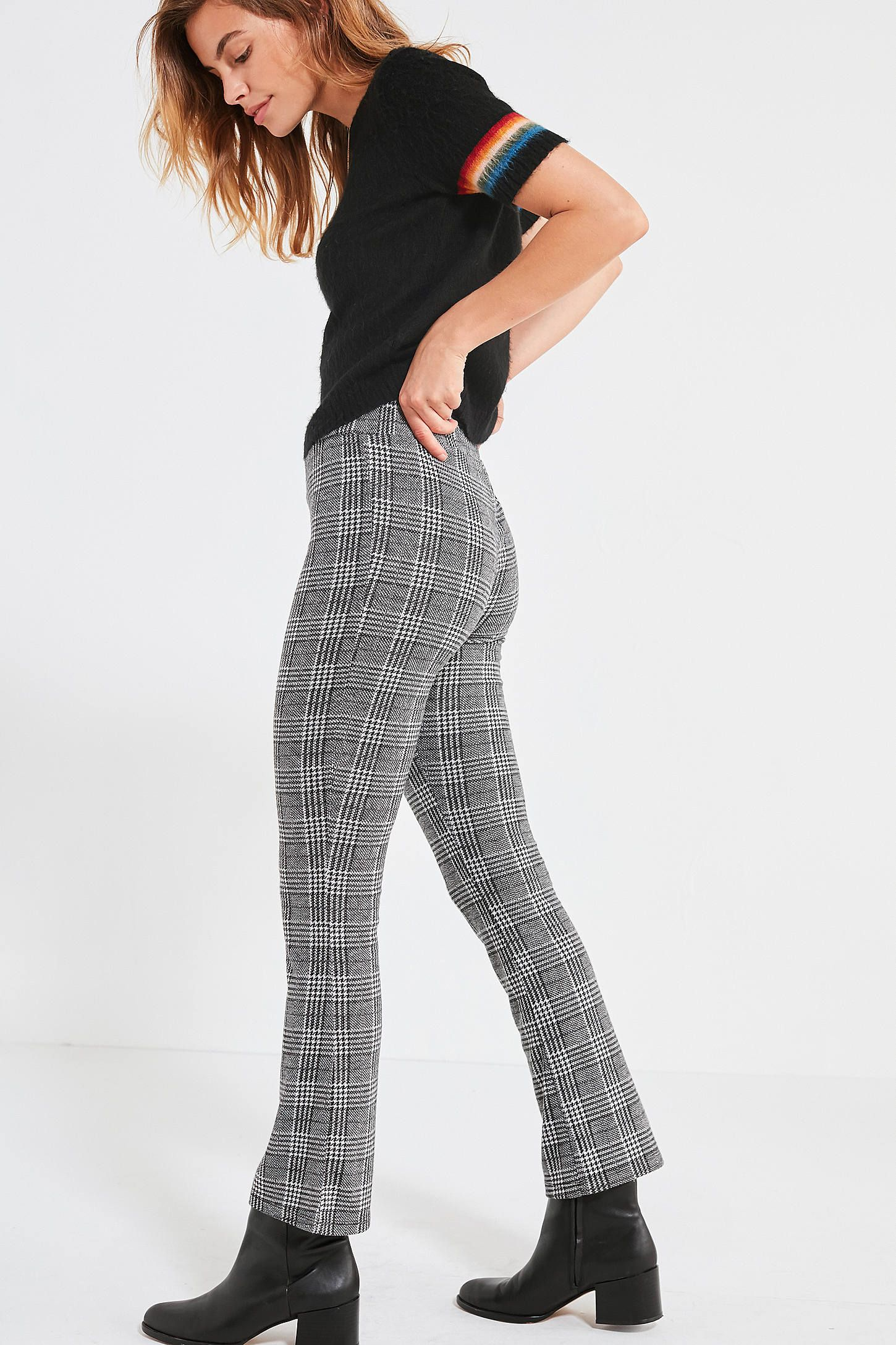 d4a3d5b4b128 Shop UO Plaid Kick Flare Pant at Urban Outfitters today. We carry all the  latest styles
