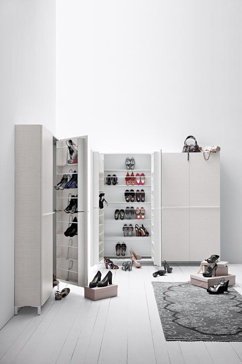 Linear Breit Schuhaufbewahrung Garderobenmobel Schuhschrank