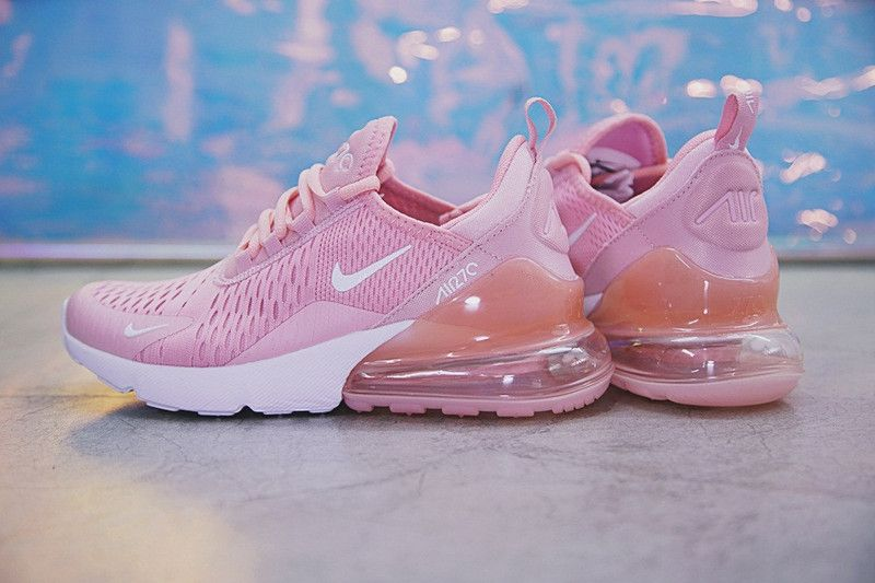c914889ebb83 Spring Summer 2018 Purchase Women Nike Air 270 Flyknit Pink White AH8050-610