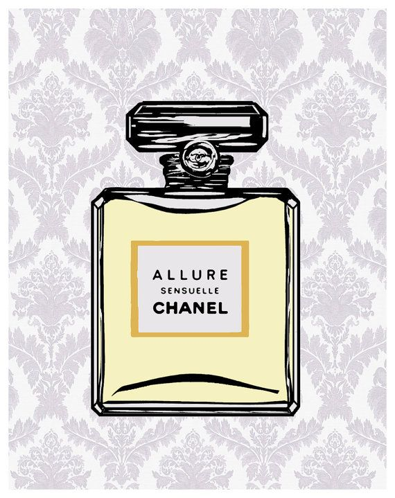 Original Chanel Posters No 5 Print Fashionista by
