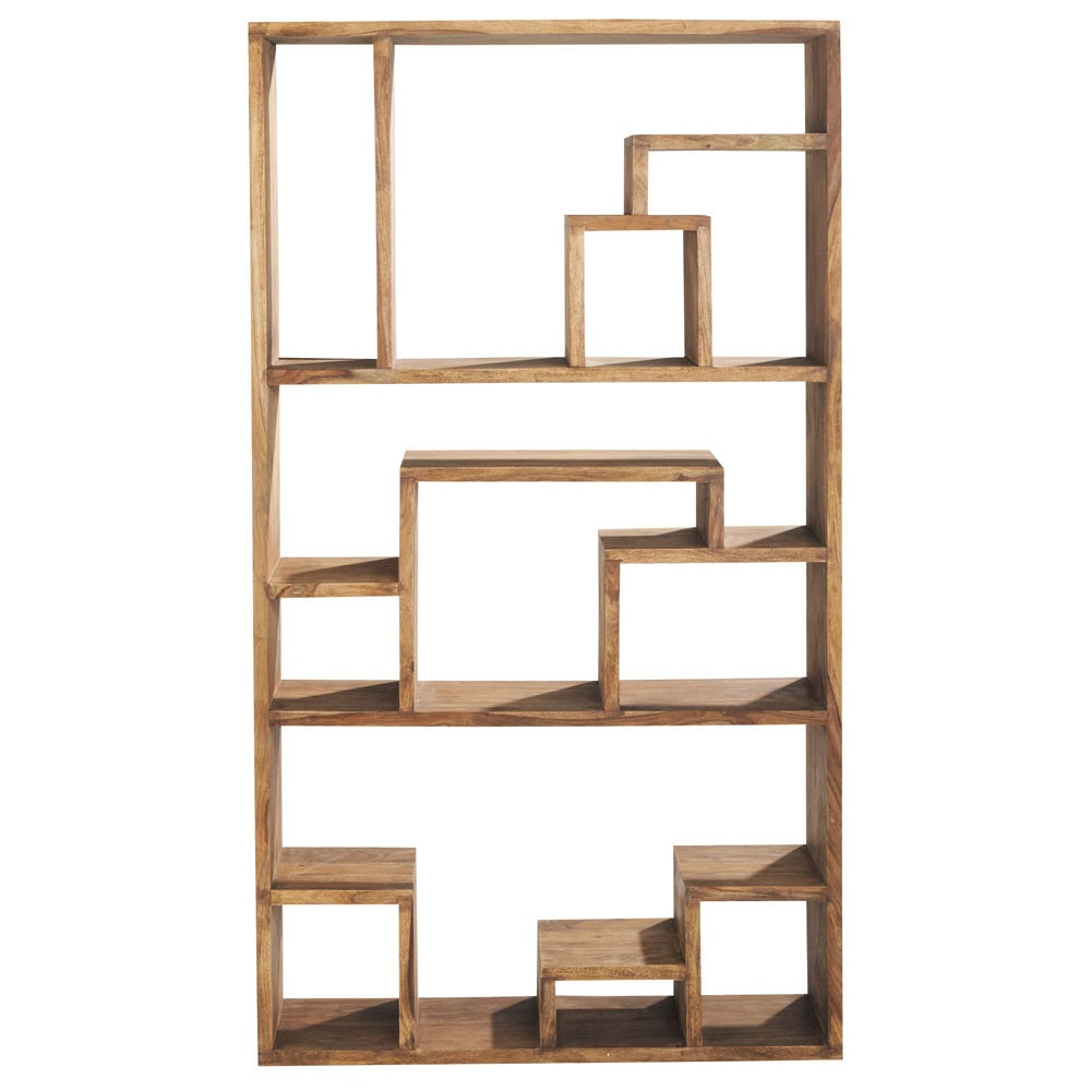 Etagere Destructuree En Sheesham Massif Wood Shelves Shelves