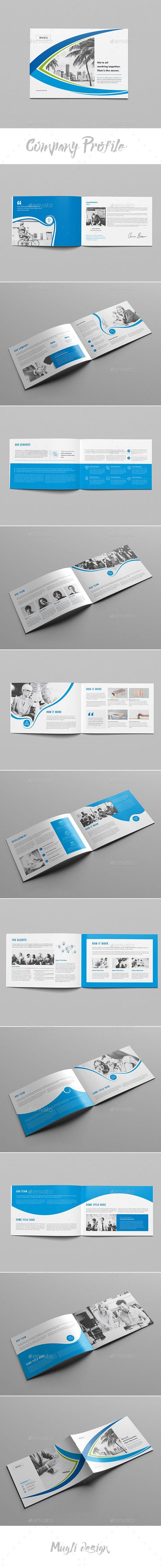 Company Profile Brochure Template InDesign INDD | Company Profile ...