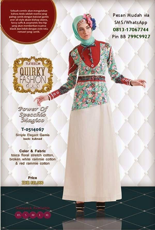 Gamis Tuneeca Collection Terbaru Cantik Berbaju Muslim Gaya Hijab Model Pakaian Hijab Model Pakaian Gadis