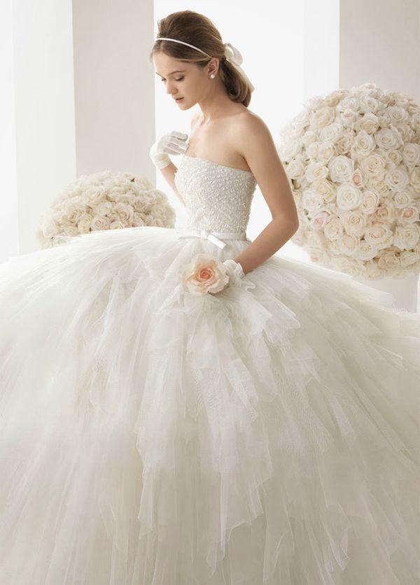 vestido de novia Rosa Clara, wedding dress | vestidos novia, bridal ...