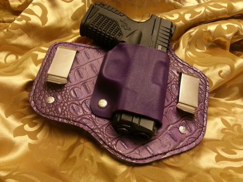 Details about WOMEN'S Hybrid IWB & OWB Holster for