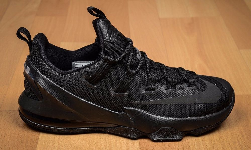 premium selection ab826 bc2cc Nike Lebron 13 XIII low black anthracite size 9 or 9.5 2016 Air James xiii   fashion  clothing  shoes  accessories  mensshoes  athleticshoes (ebay link)