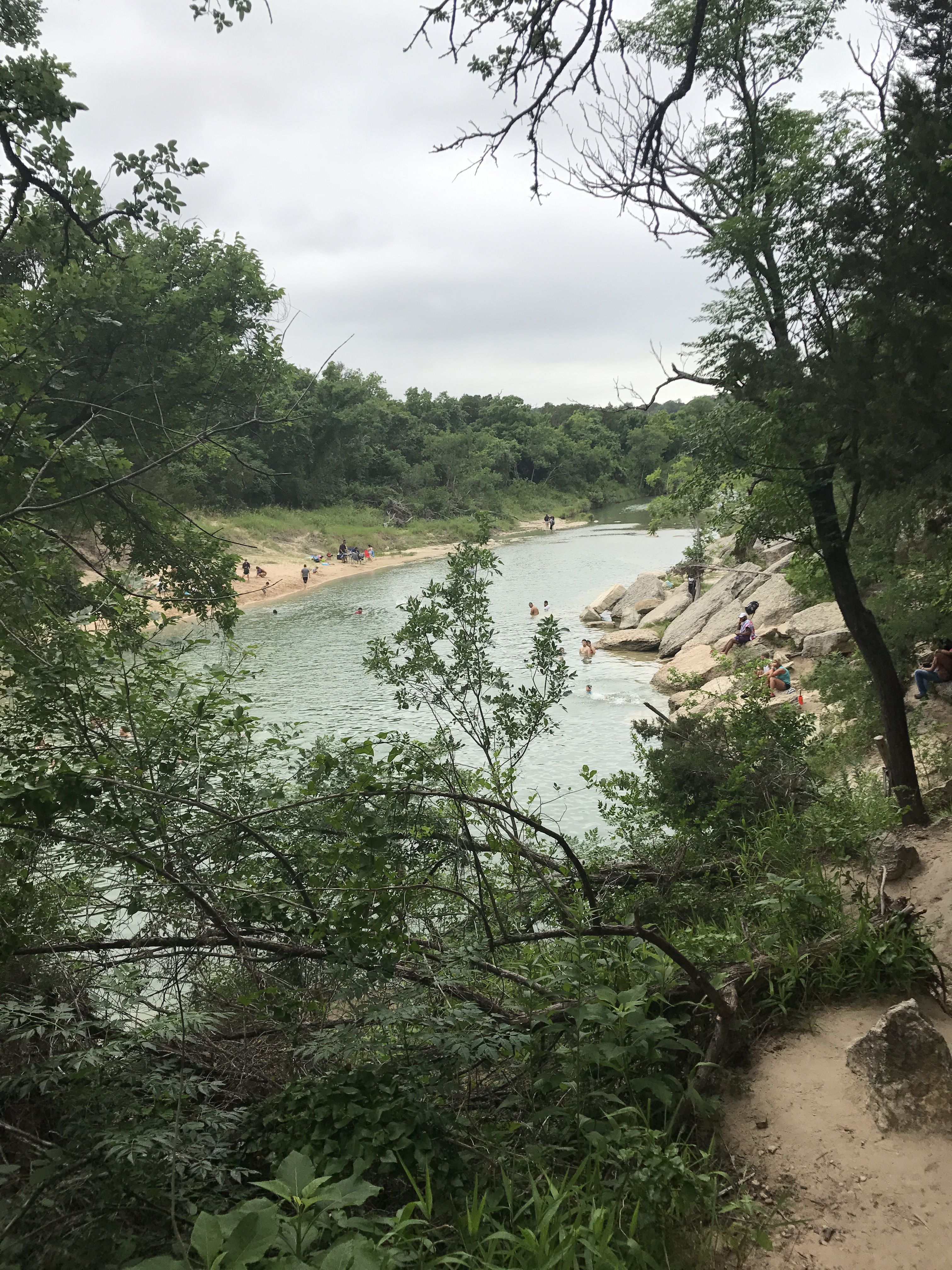 Dinosaur Valley State Park, Glen Rose, Texas. They have ...