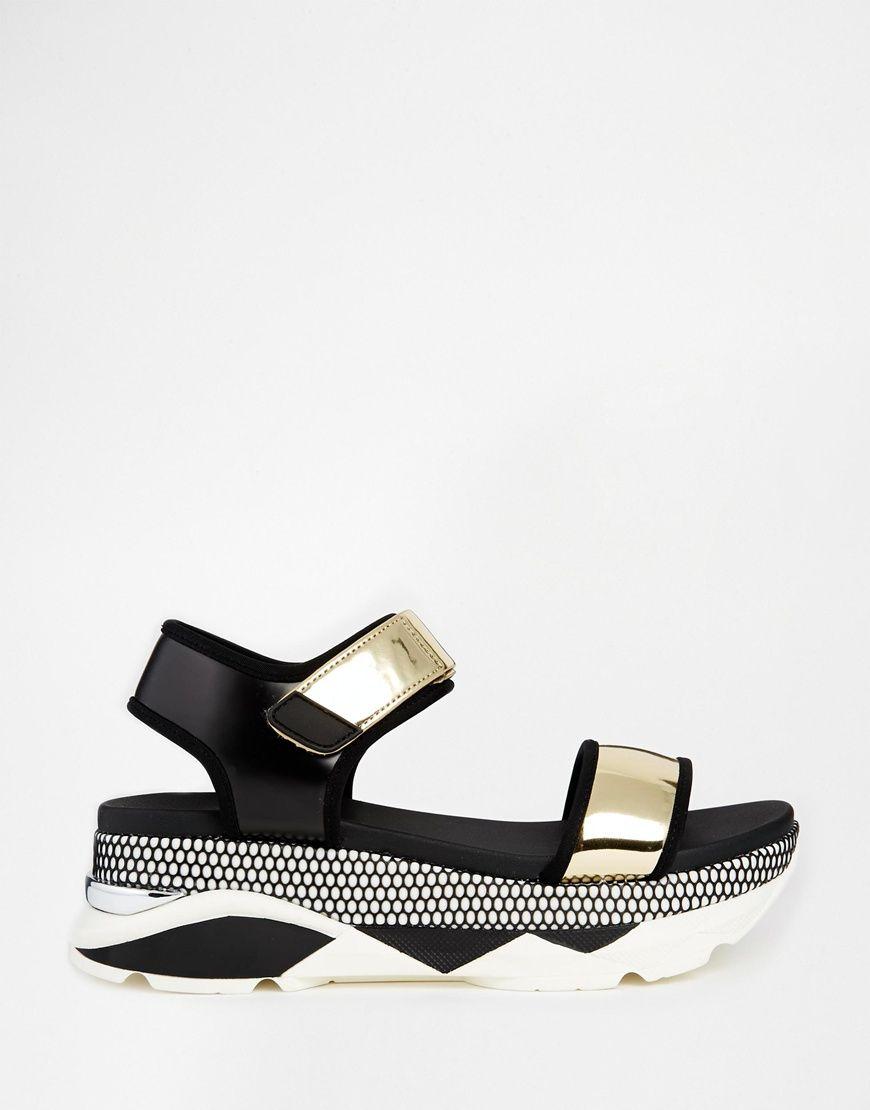40e2c41ff5f Image 3 of ALDO Zarella Active Footbed Sole Flat Sandals
