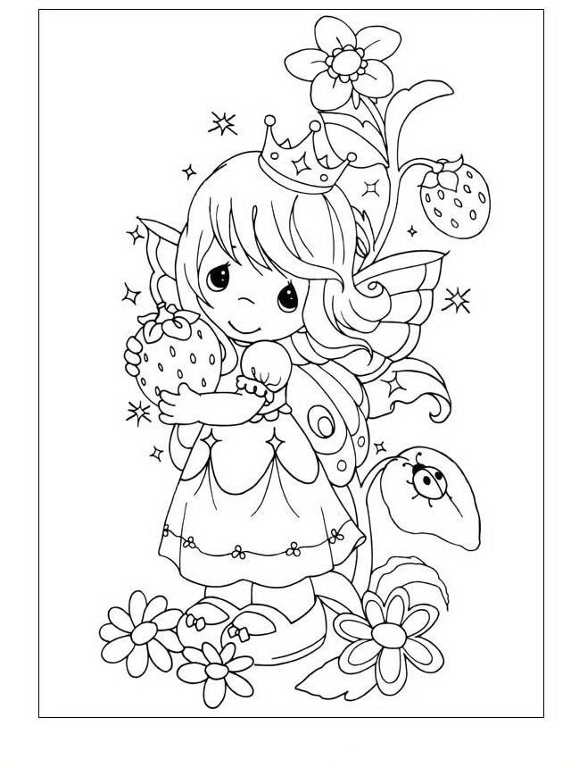 Dibujos para Colorear Precious Moments 29 | Dibujos para colorear ...