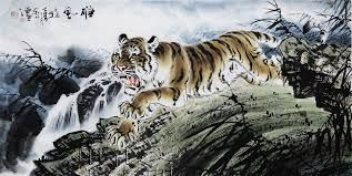 Image result for abstract art tigers