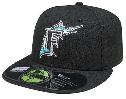 MLB Florida Marlins Authentic On Field Game 59FIFTY Cap by New Era.  16.99.  Embroidered 3ec74ca22ff